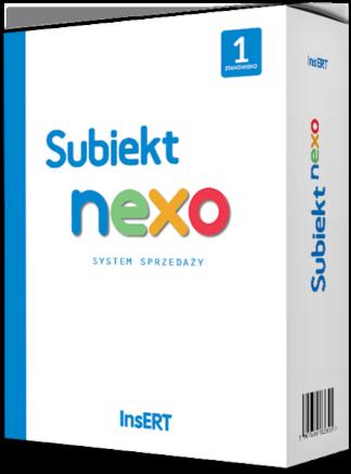 Insert subiekt Nexo 1st_dsgsoftware
