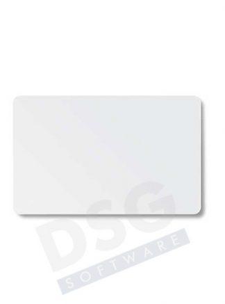 Karta biała PVC